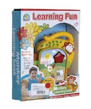 Libro Aprendizaje Luz y Sonido, Bilingüe.